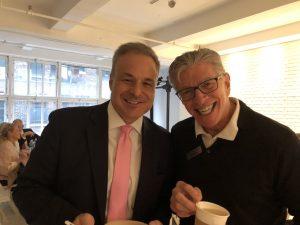 Jim with Clint Arthur