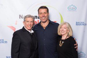 Jim Heafner with Tony Robbins