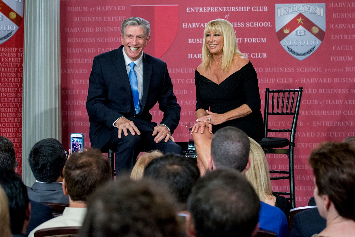 Jim Heafner and Suzanne Somers